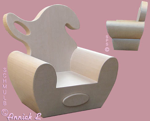 Paperboard armchair